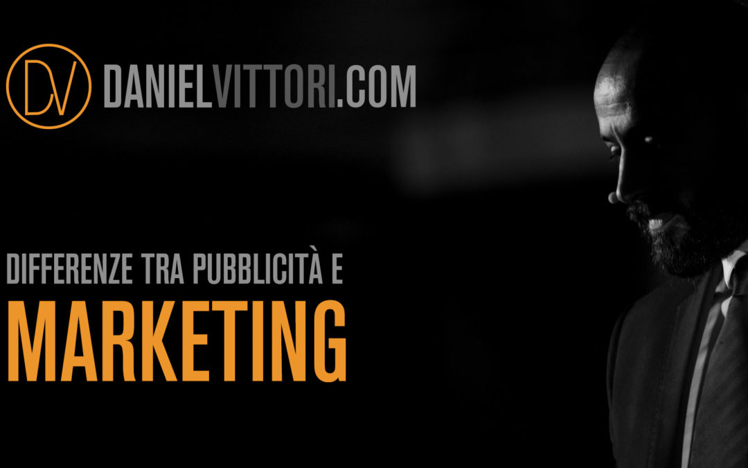 La differenza tra pubblicità e marketing